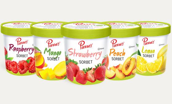 Sorbet - Pierre's Ice Cream