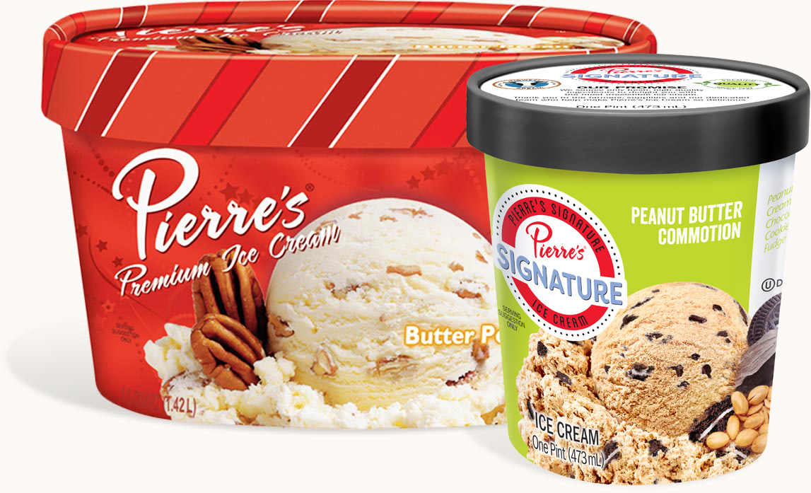 Pierre's Ice Cream Private Label Manufacturing
