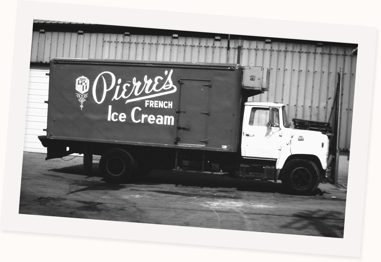 Pierre's Ice Cream History Image